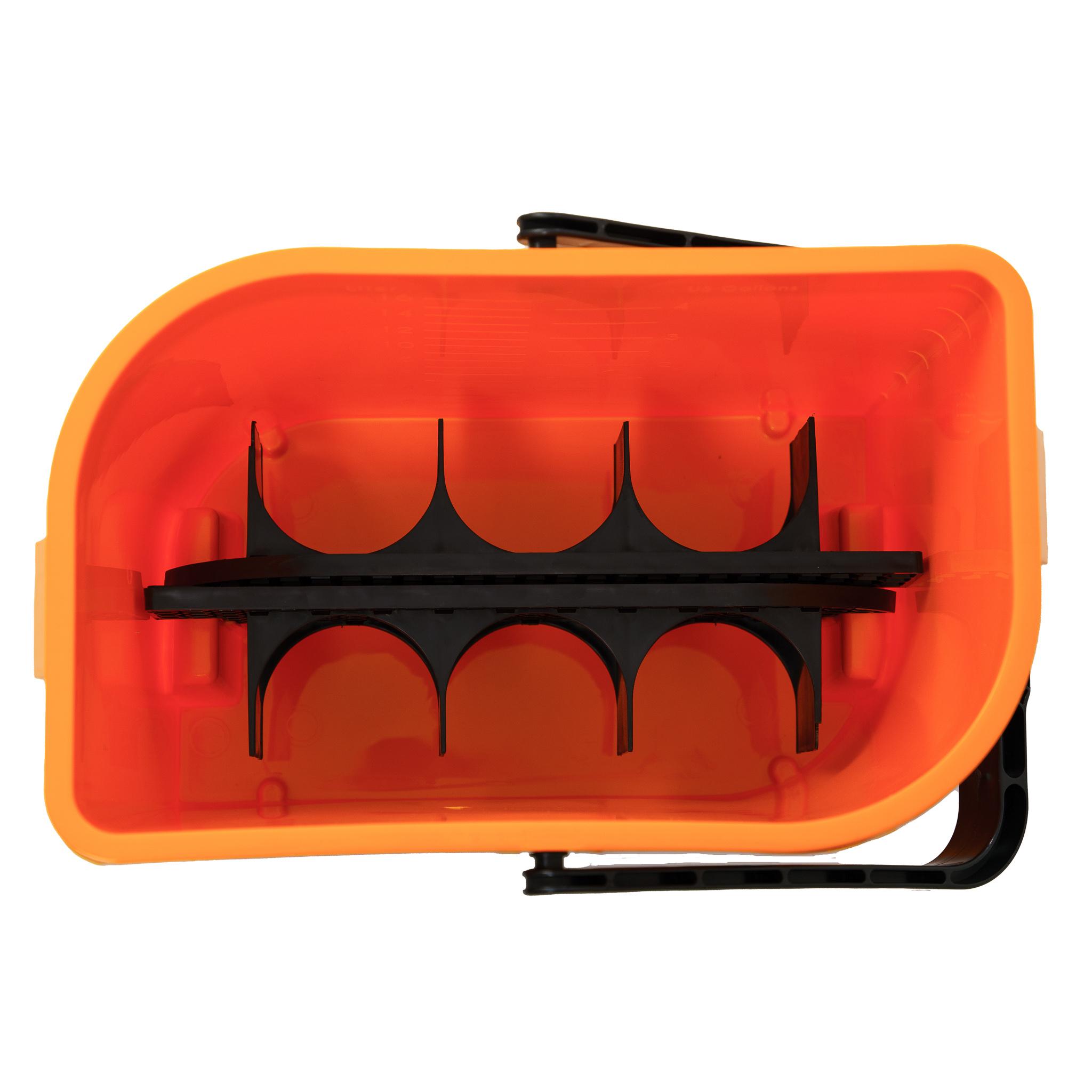 Car Care Bucket orange 2