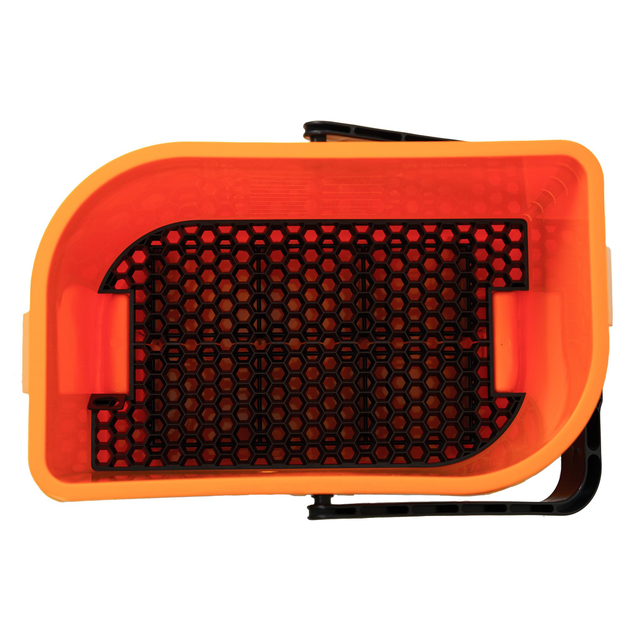 Car Care Bucket Orange