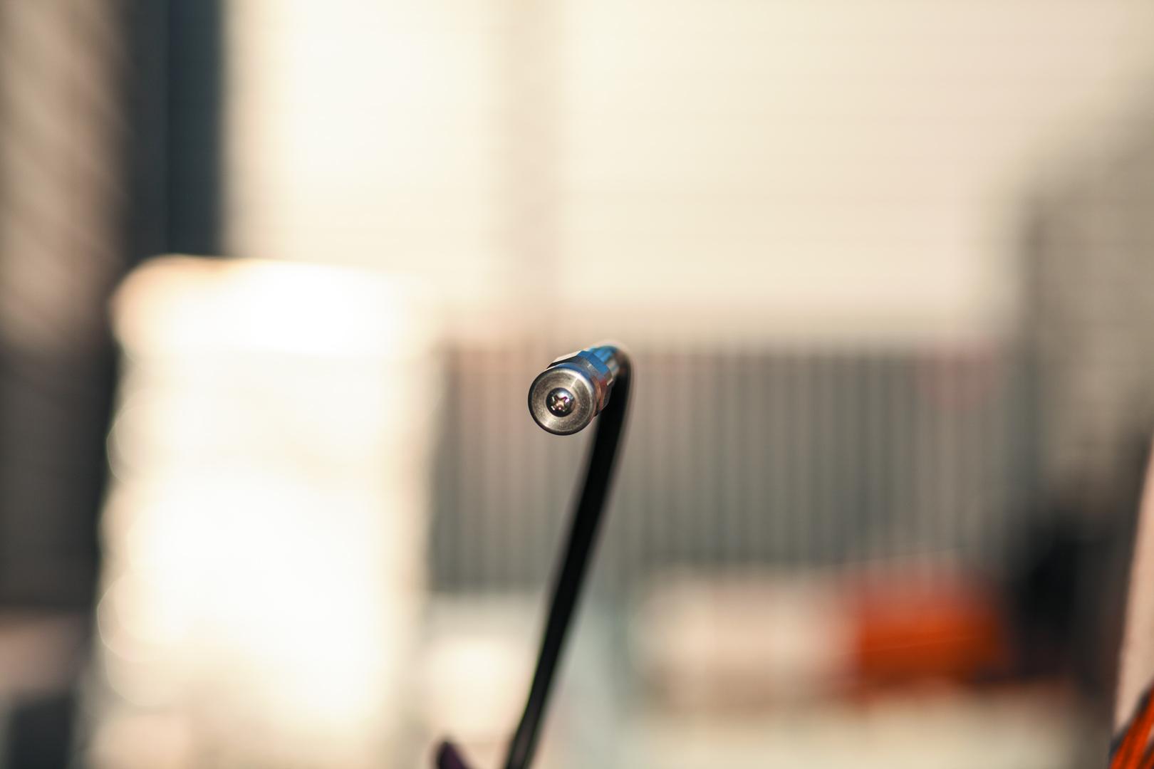 Draining hose rotor nozzle