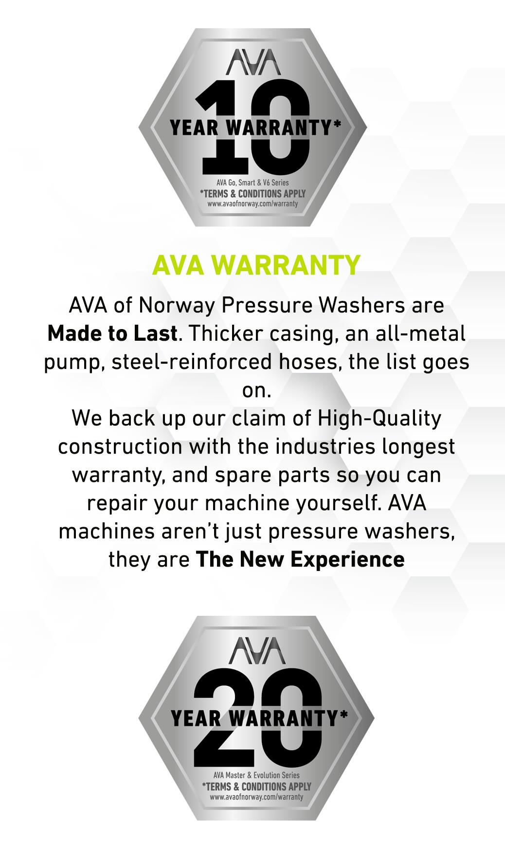 AVA Warranty image