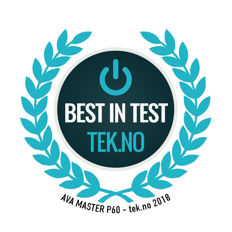 Master P60 Best in test tek.no 2018