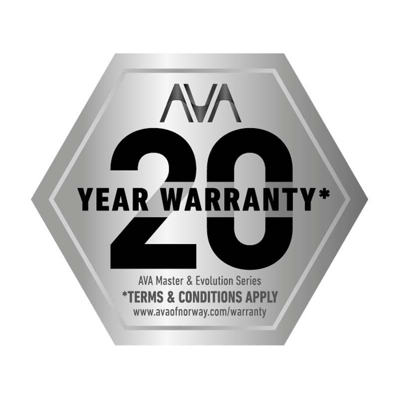 AVA 20 Year Warranty